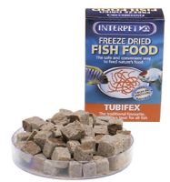 Interpet Freeze Dried Tubifex Worms 30g Fish Food Natural